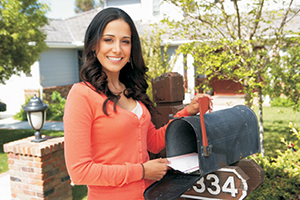 Direct mail targeted marketing